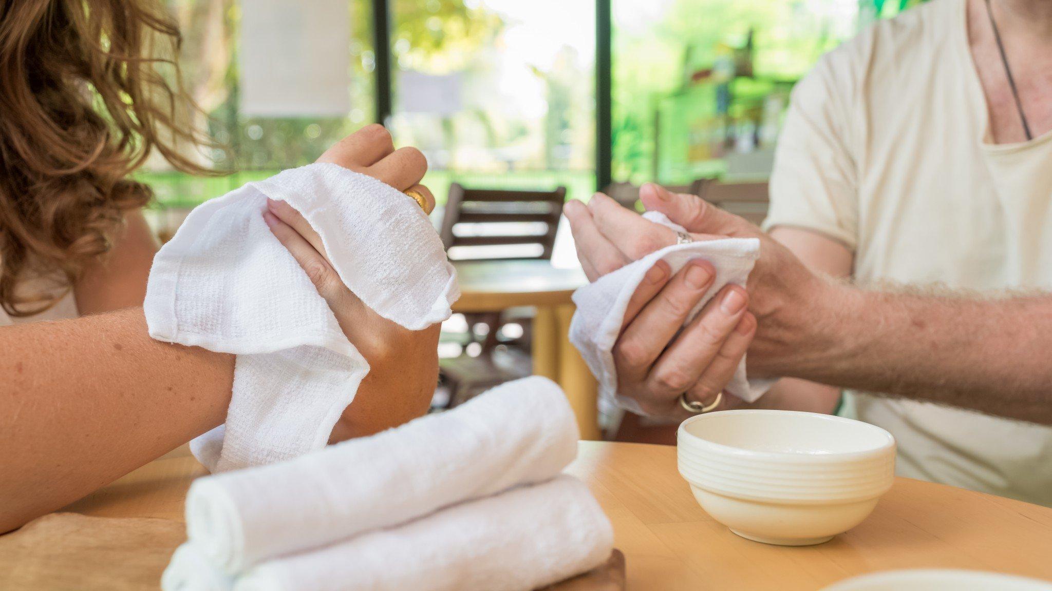 Oshibori Towels - Take a Moment to Connect
