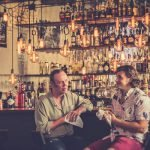 A Barman and a Guest